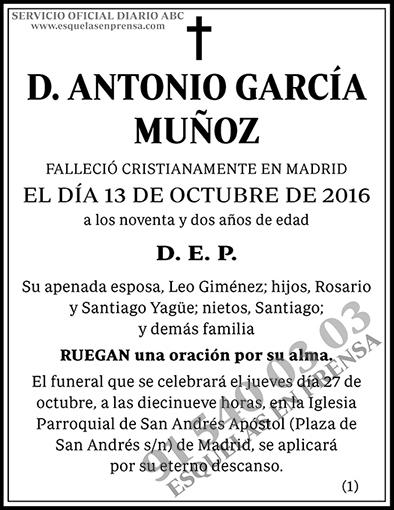 Antonio García Muñoz
